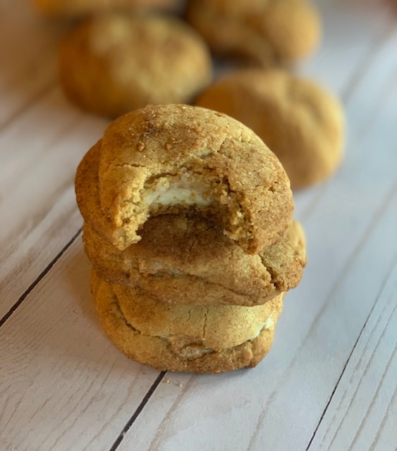 snickerdoodle cheesecake cookies