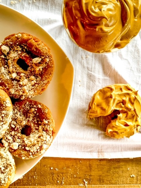 Whipped Coffee Honey Donuts