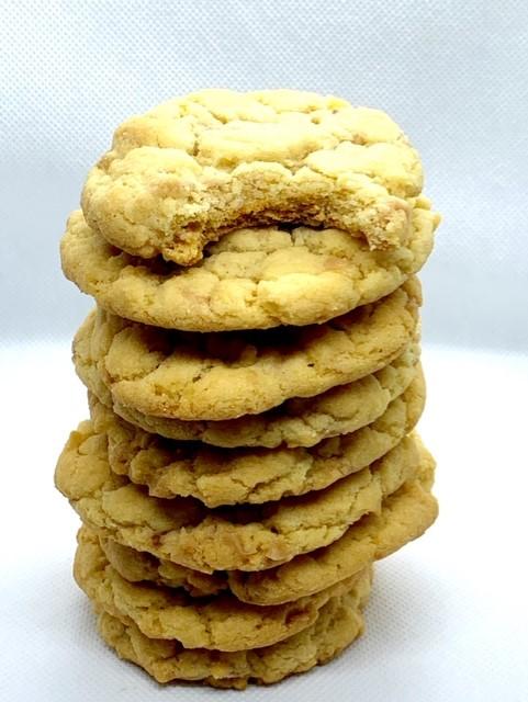 Vanilla Toffee Pudding cookies