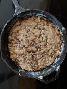 monster cookie skillet