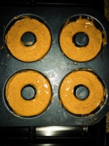 Guilt free baked cinnamon donuts