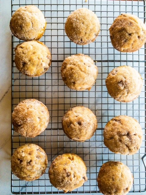 Snickerdoodle muffins without cream of tartar