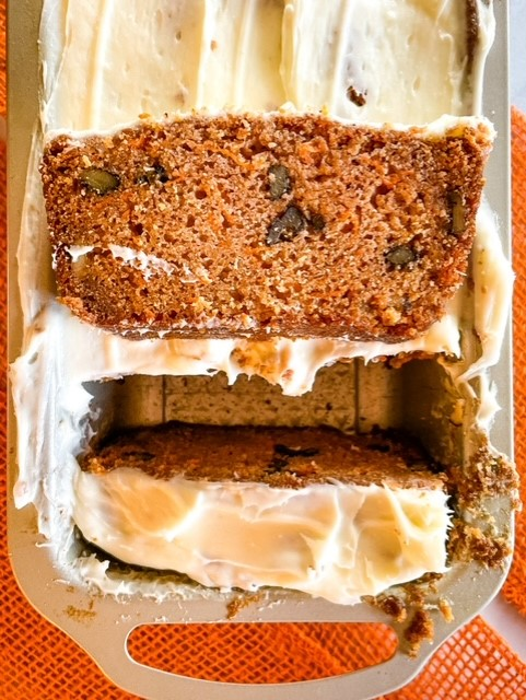 carrot cake loaf recipe