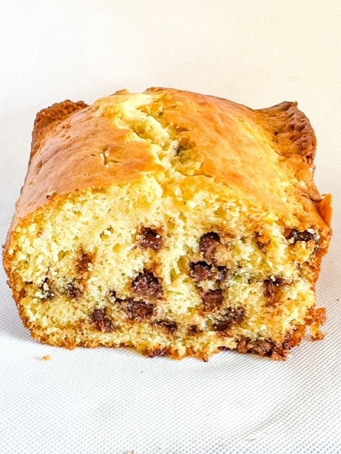 chocolate chip loaf cake
